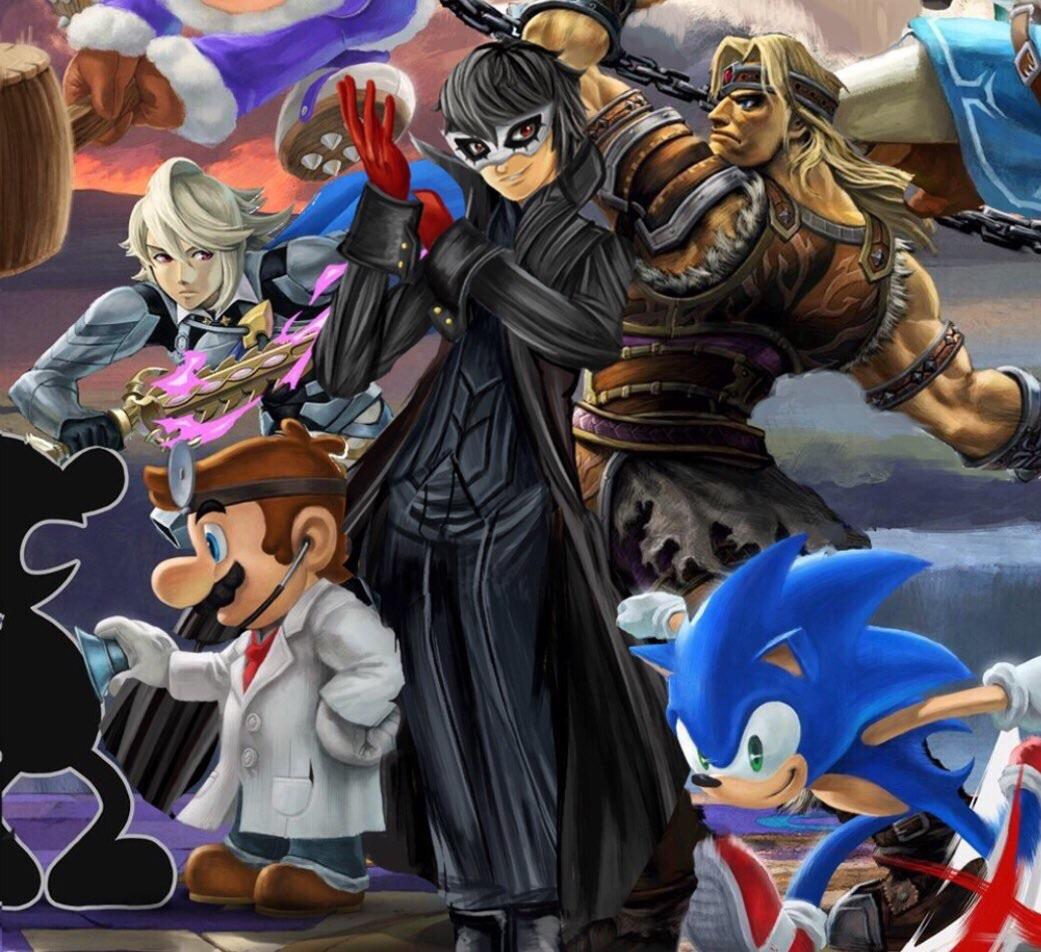 joker in smash 3
